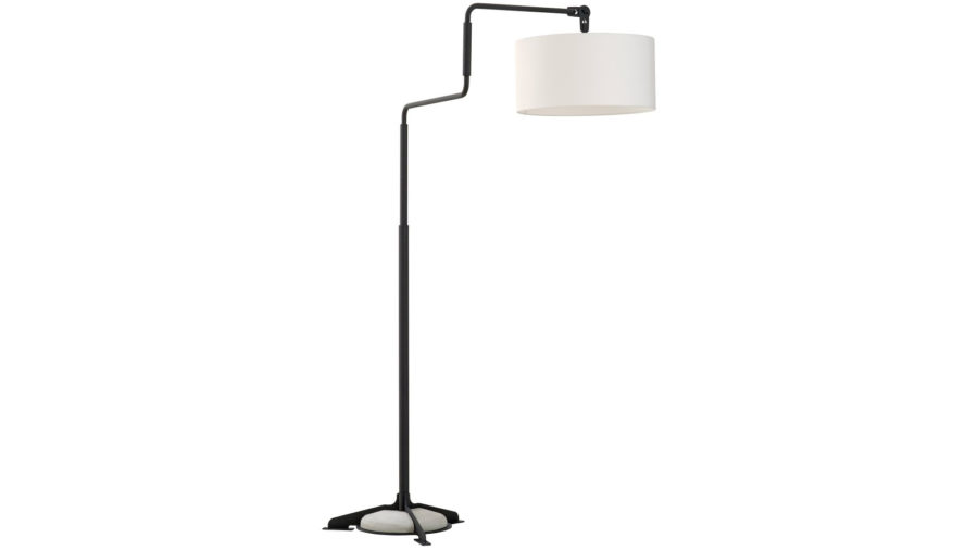 Functionals Swivel vloerlamp wit