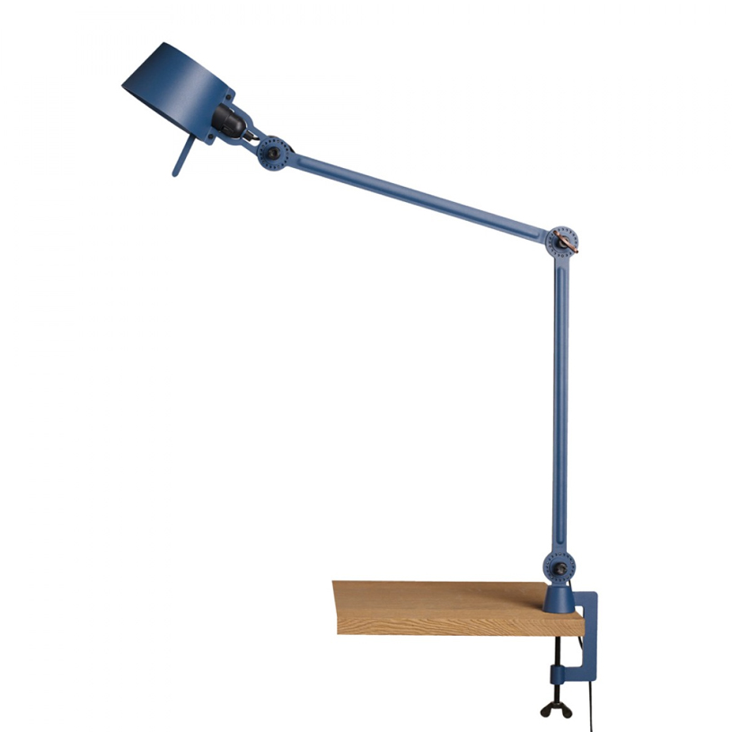 Tonone Bolt Desk Lamp Double Arm With Clamp blauw drentenvandijk