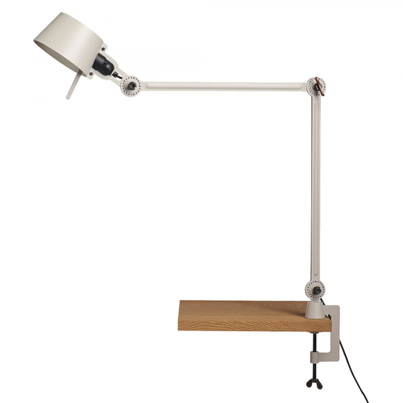 Tonone Bolt Desk Lamp Double Arm With Clamp grijs drentenvandijk