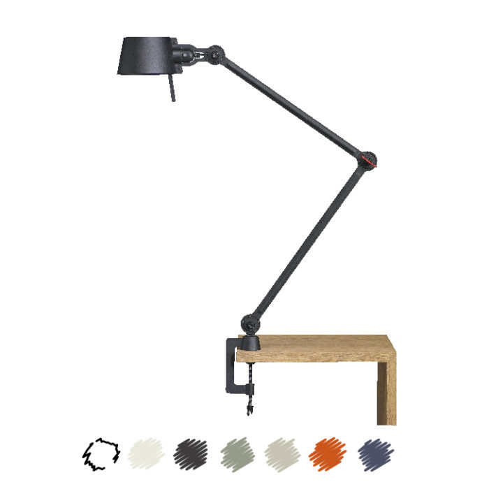 Tonone Bolt Desk Lamp Double Arm With Clamp kleur drentenvandijk