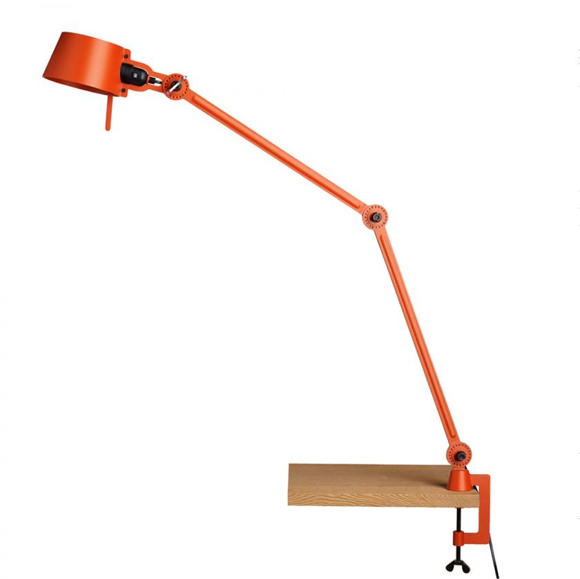 Tonone Bolt Desk Lamp Double Arm With Clamp oranje drentenvandijk