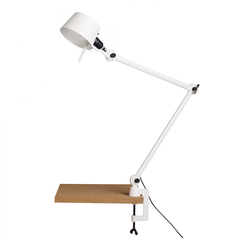 Tonone Bolt Desk Lamp Double Arm With Clamp wit drentenvandijk