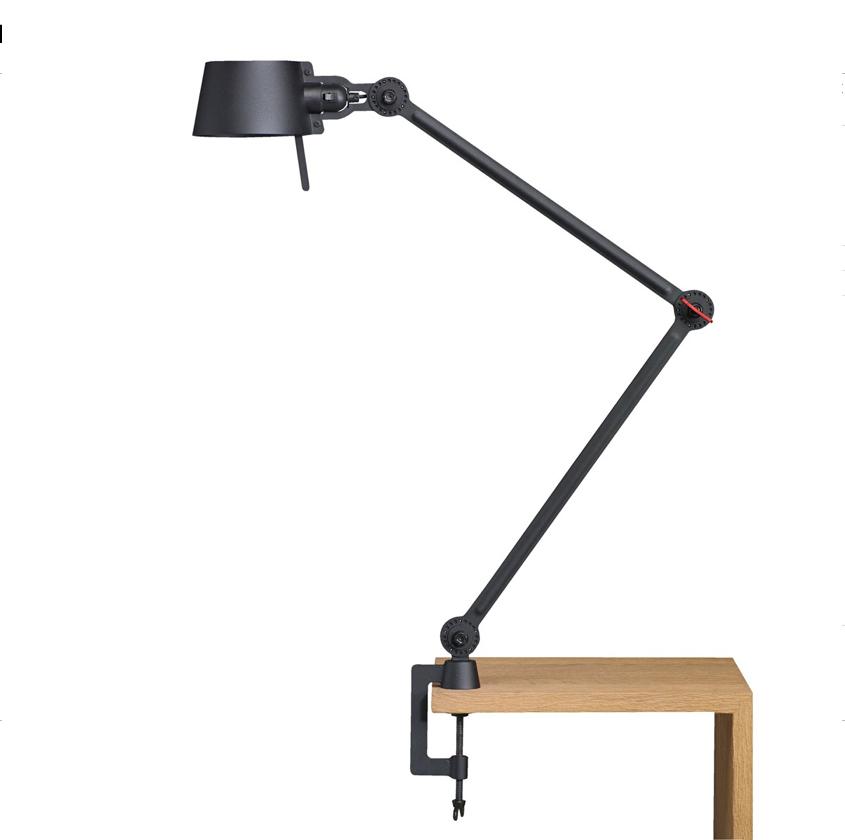 Tonone Bolt Desk Lamp Double Arm With Clamp zwart drentenvandijk
