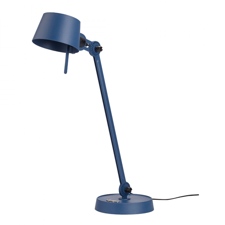 Tonone Bolt desk lamp single arm blauw drentenvandijk