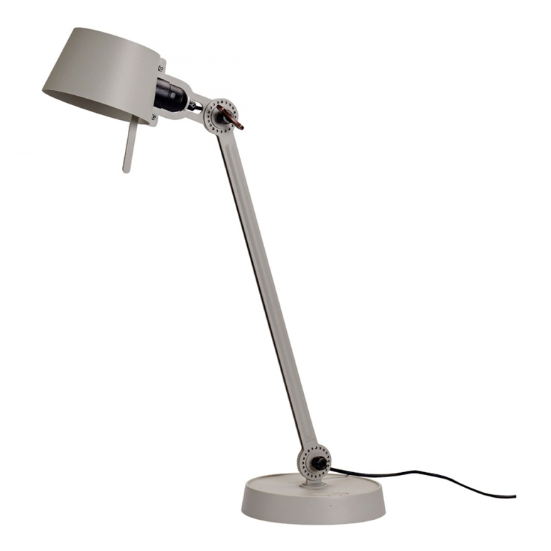 Tonone Bolt desk lamp single arm grijs drentenvandijk