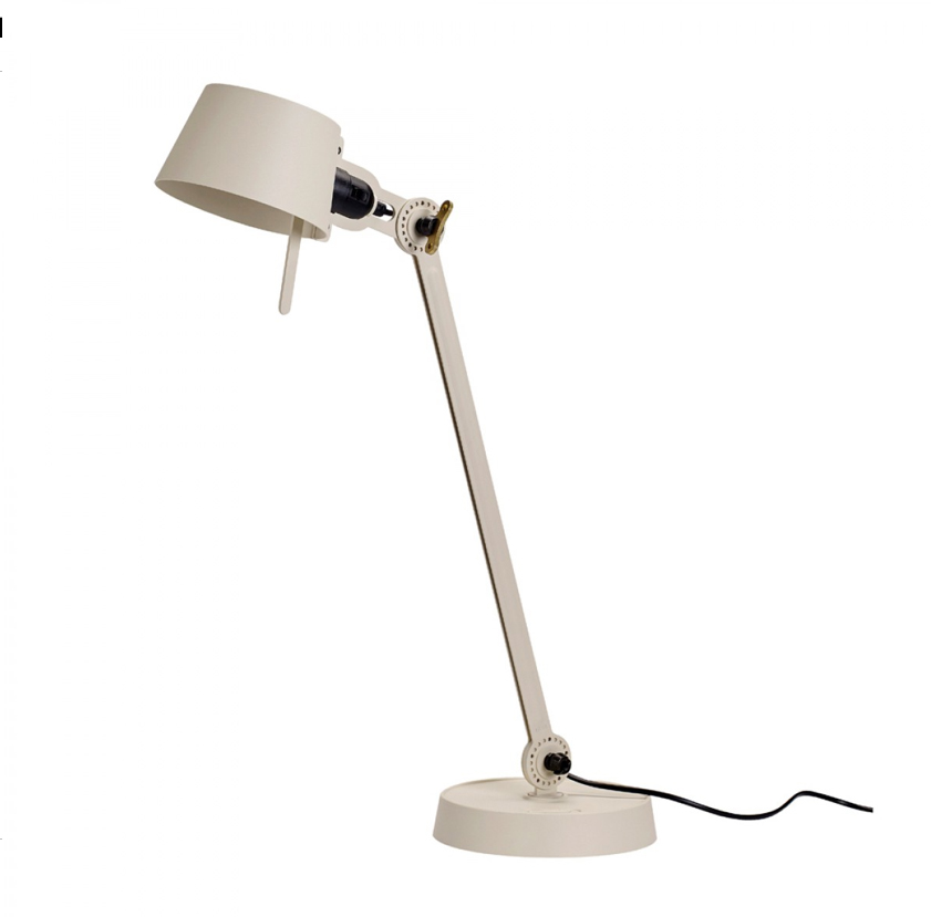 Tonone Bolt desk lamp single arm licht wit drentenvandijk