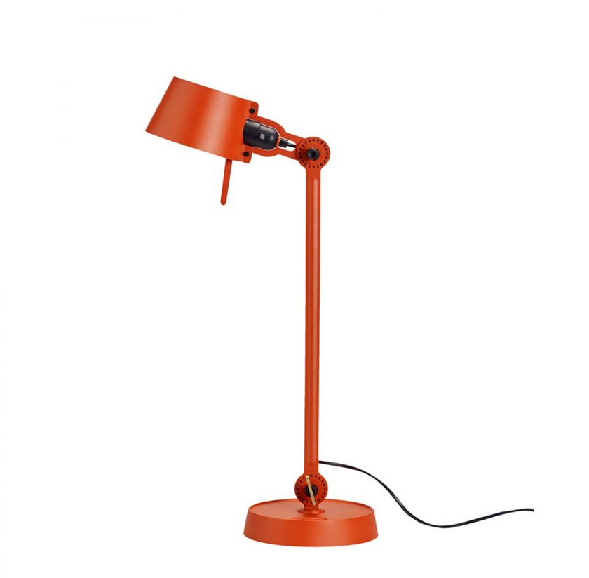 Tonone Bolt desk lamp single arm oranje drentenvandijk
