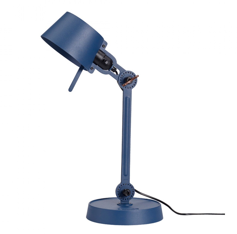 Tonone Bolt desk lamp single arm small blauw drentenvandijk