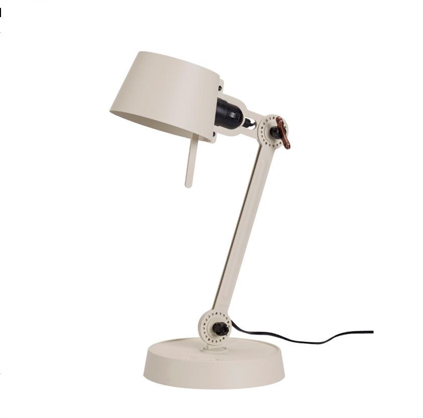 Tonone Bolt desk lamp single arm small licht wit drentenvandijk