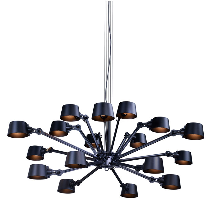 Tonone Bolt chandelier 18 arm