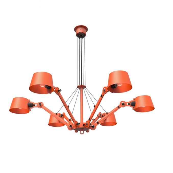Tonone Bolt chandelier grijs drentenvandijk