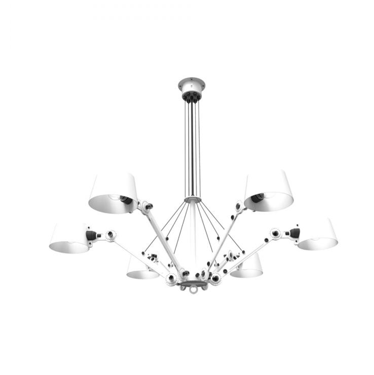 Tonone Bolt chandelier wit drentenvandijk