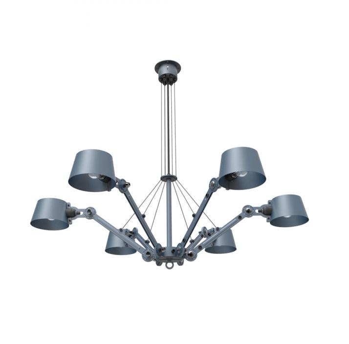 Tonone Bolt chandelier blauw drentenvandijk