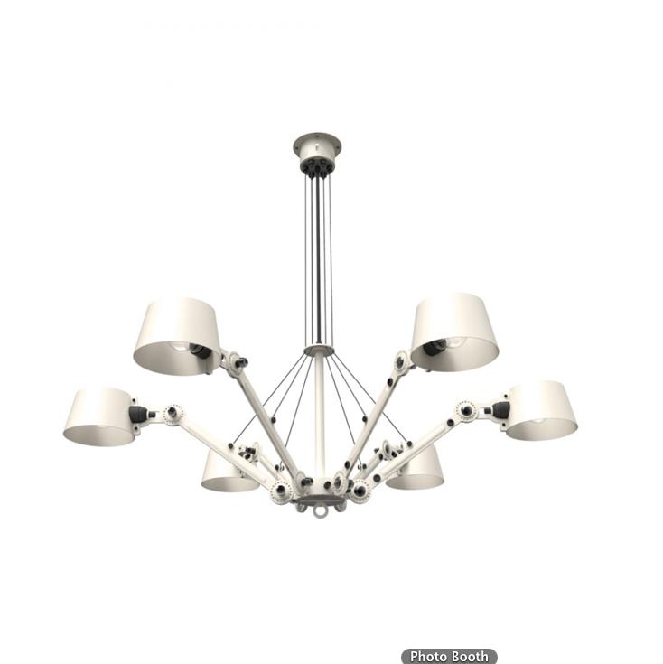 Tonone Bolt chandelier licht wit drentenvandijk