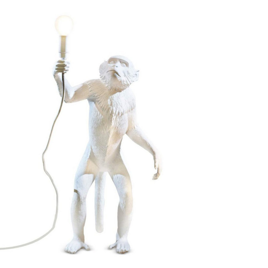 Seletti monkey lamp standing