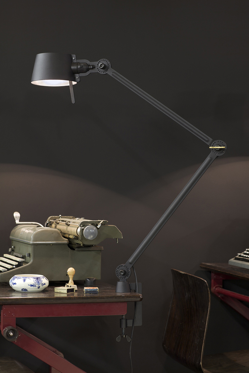 Tonone Bolt desk lamp - double arm - with clamp (no. 2)