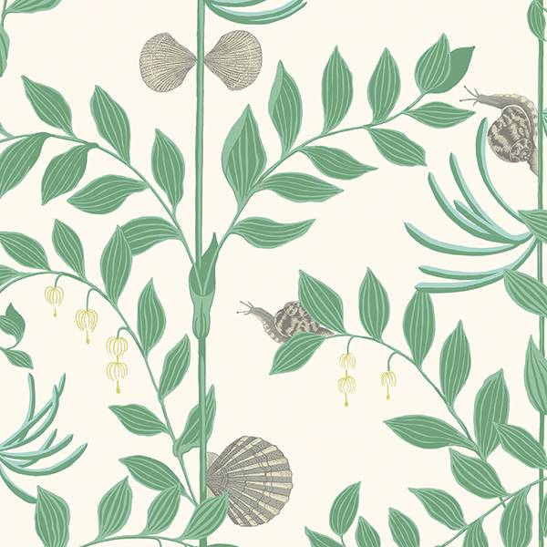Cole and Son behang - Secret Garden emerald green - 103/9030