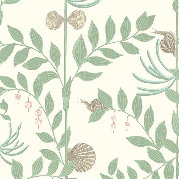 Cole and Son behang - Secret Garden misty sage green - 103/9031