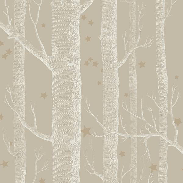Cole and Son behang - Woods & stars linen - 103/11047