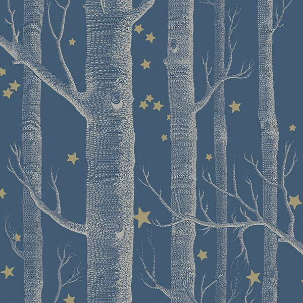 Cole and Son behang - Woods & stars midnight - 103/11052