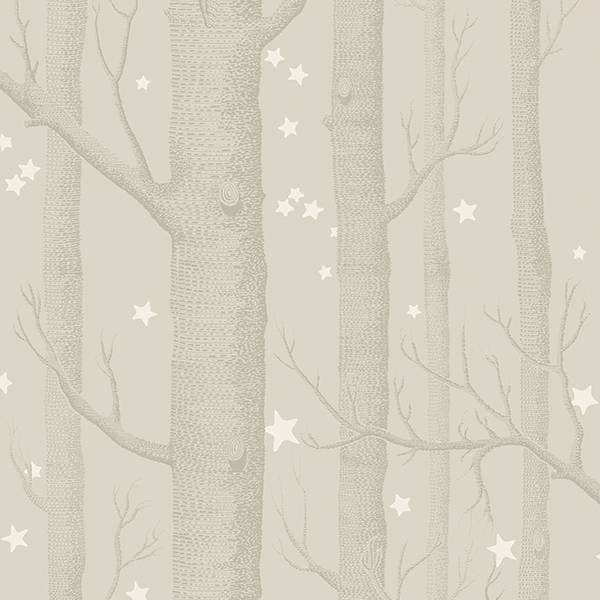 Cole and Son behang - Woods & stars grey - 103/11048