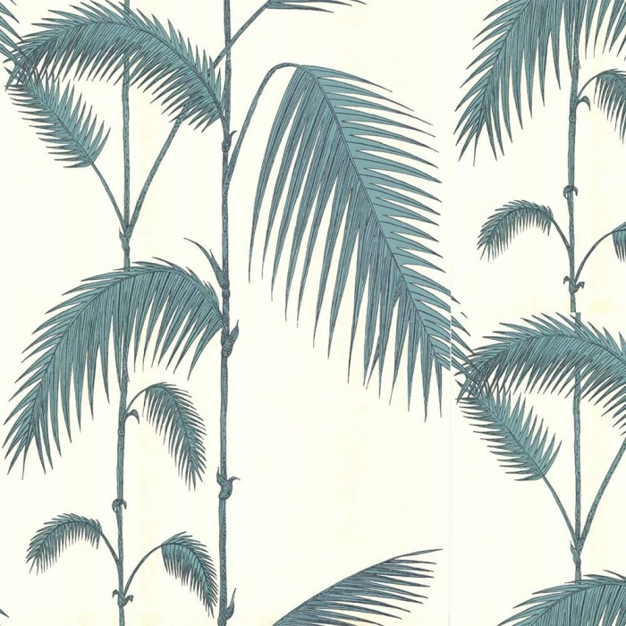 Cole and Son behang Palm Leaves beige