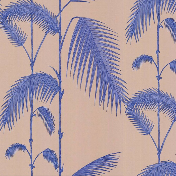 cole and son Palm leaves purple/blue