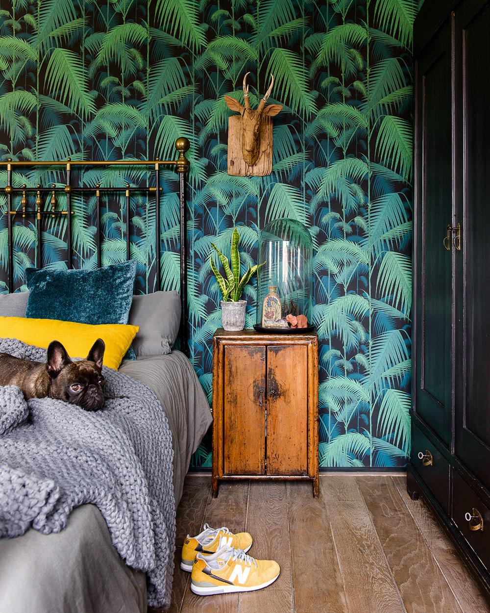 Cole & Son behang - Palm Jungle green 95/1003