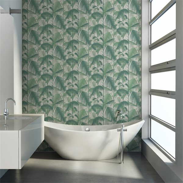 Cole & Son behang Palm Jungle green