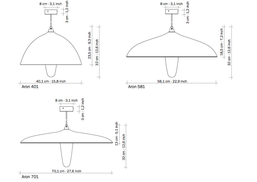 Functionals lamp Aron 581