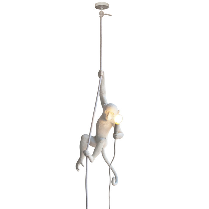 seletti monkey lamp ceiling