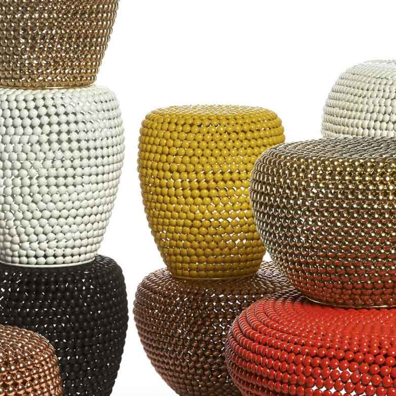 pols potten dot stool