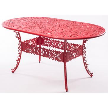 seletti industry garden oval table