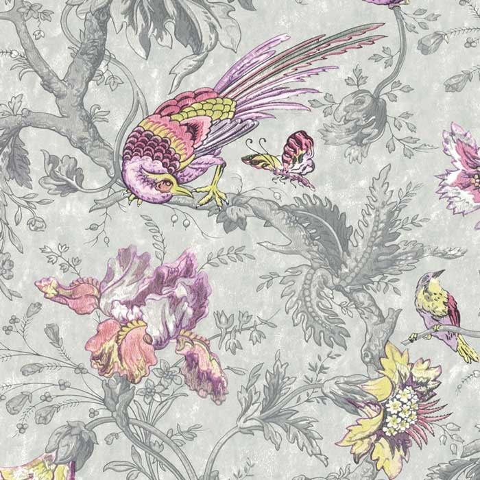 Little Greene behang Crowe Hall Lane charme