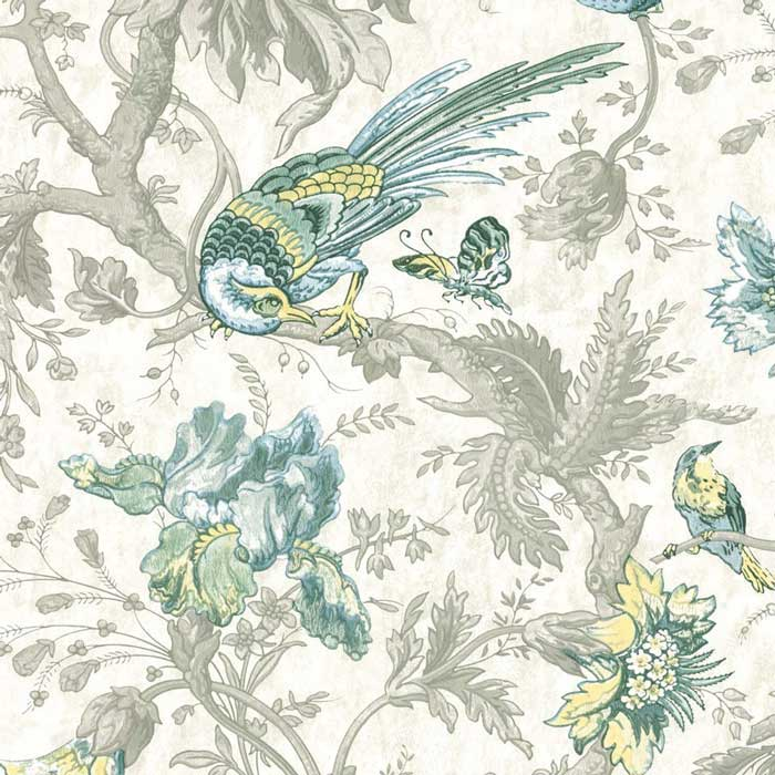 Little Greene behang Crowe Hall Lane Paradise