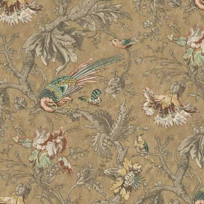 Little Greene behang Crowe Hall Lane reade