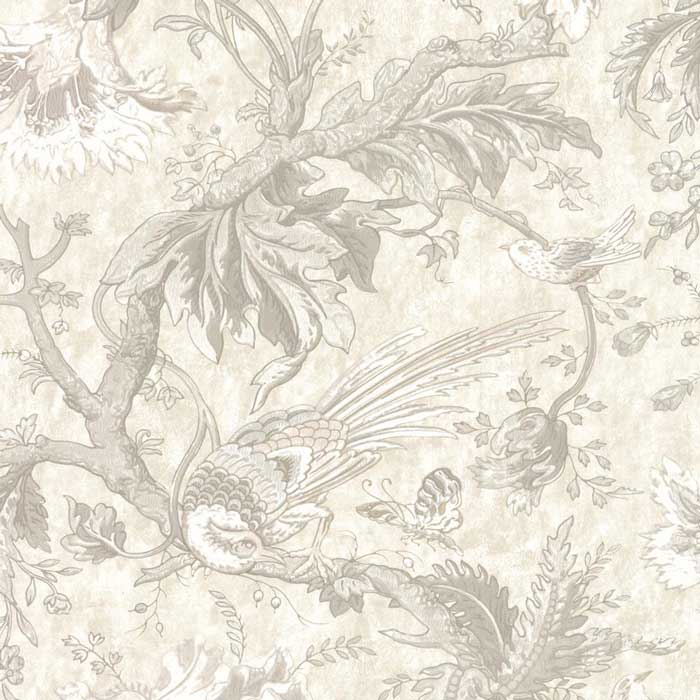 Little Greene behang Crowe Hall Lane Talcum