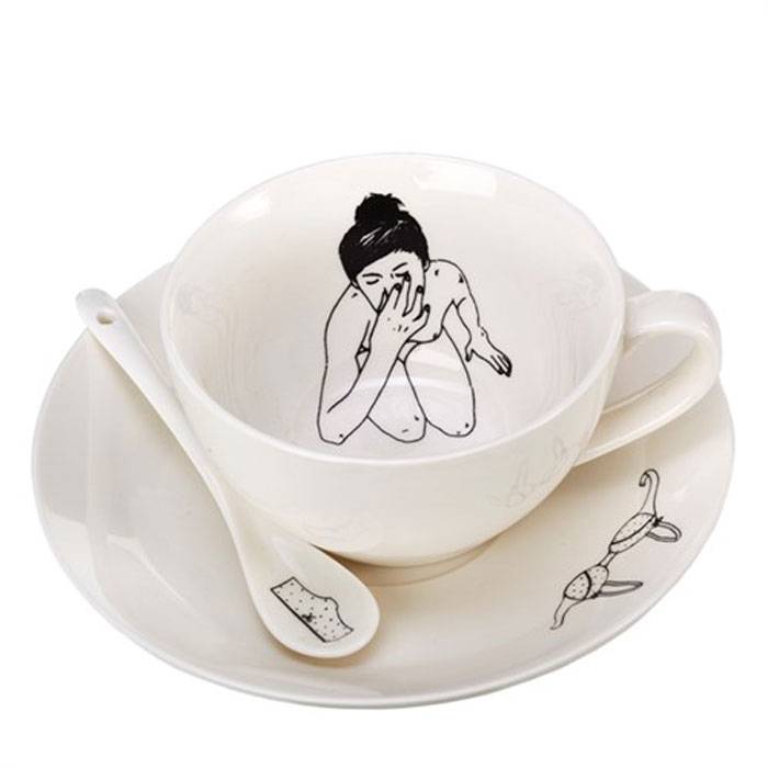 Pols Potten Undressed Teaset 4