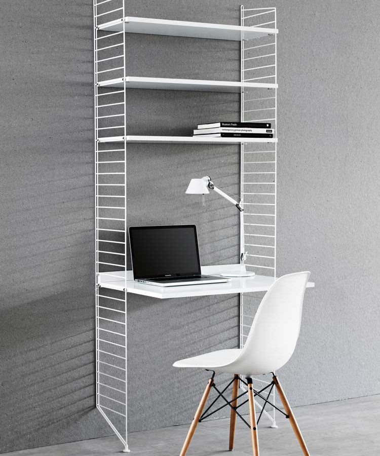 String magazine shelf metal 78 x 30 drent van dijk shop - String kantoor ...