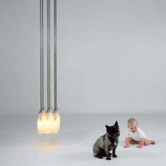Milk Bottle Lamp 12pcs