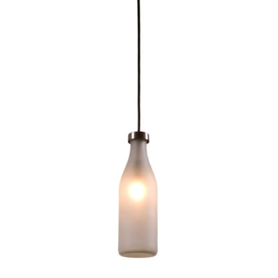 Milk Bottle Lamp single