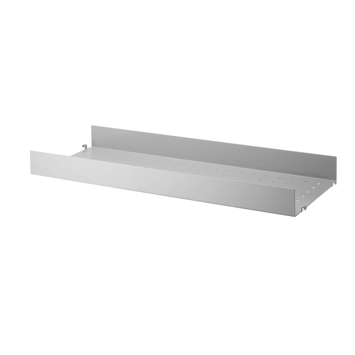 String metal shelf