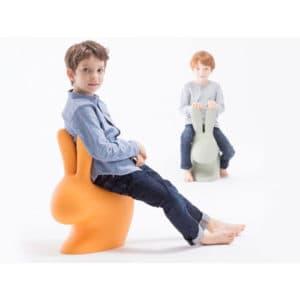 qeeboo rabbit baby chair