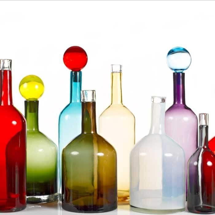 Pols Potten Bubbles & Bottels multi colour set 4