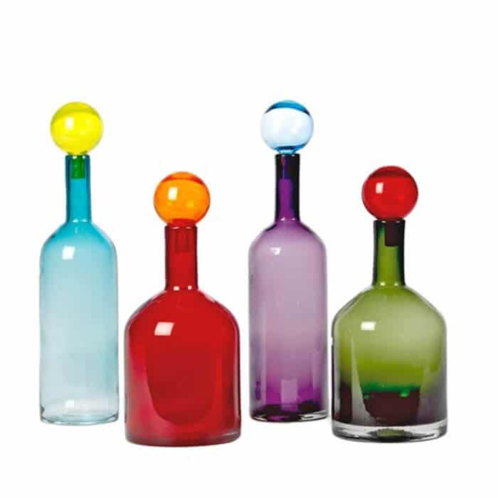 Pols Potten Bubbles & Bottels multi colour set 4