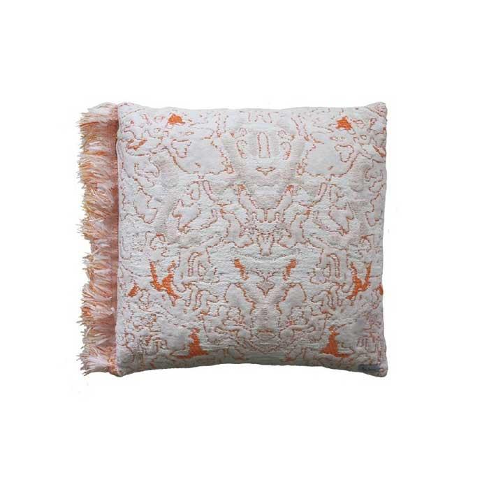 Kussen Fringe Coral