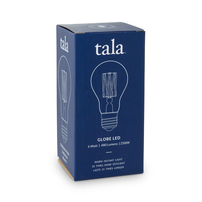 Tala Globe 6 Watt Led