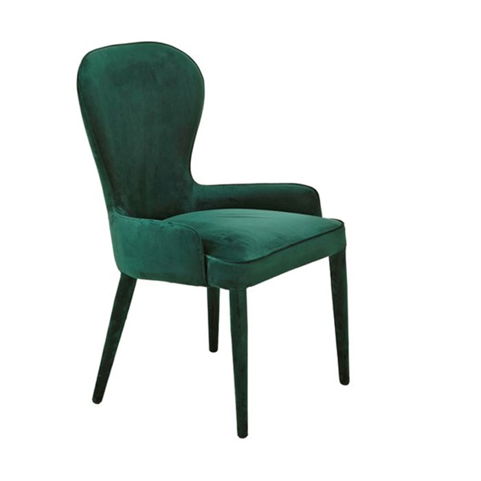 Pols Potten Chair Aunty Velvet Green