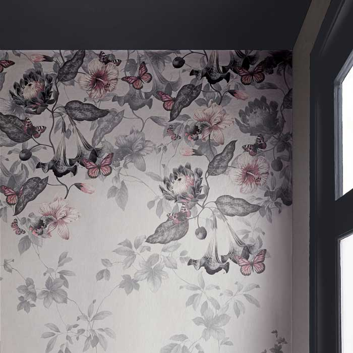 Little Greene Behang Asterid