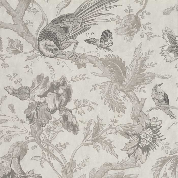 Little Greene behang Crowe Hall Lane nuage